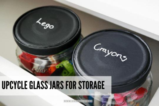 glass jar storage