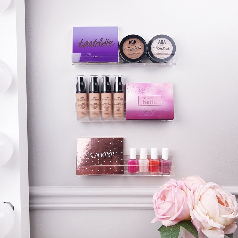 Makeup Wall Organizer