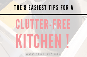 8 Easy Tips For a Clutter-free kitchen