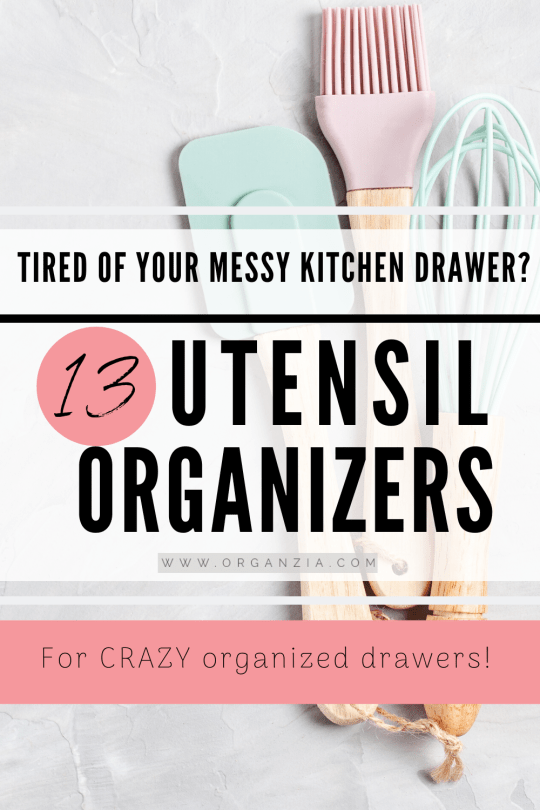 13 Smart Kitchen Utensil Organizers