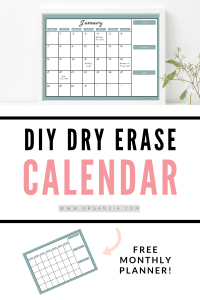 DIY Monthly Planner - Simple Tutorial