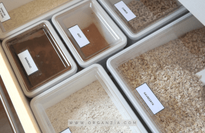 How to organize kitchen drawer - dry goods