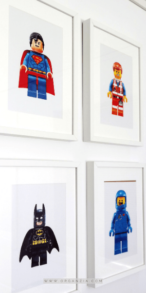 4 Lego Pictures art