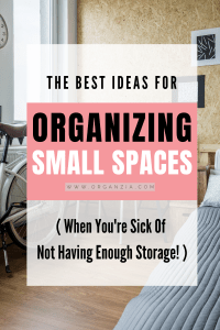 Organizing in small spaces