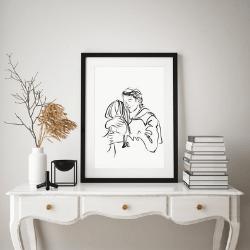 Art gift for Valentine's day