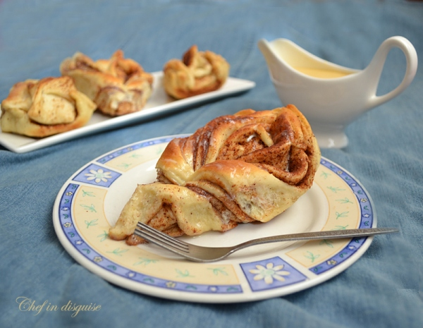 Cinnamon Sweet Bread by Sawsan at chefindisguise.com