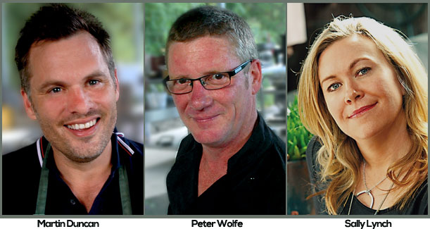 Martin Duncan, Peter Wolfe, Sally Lynch