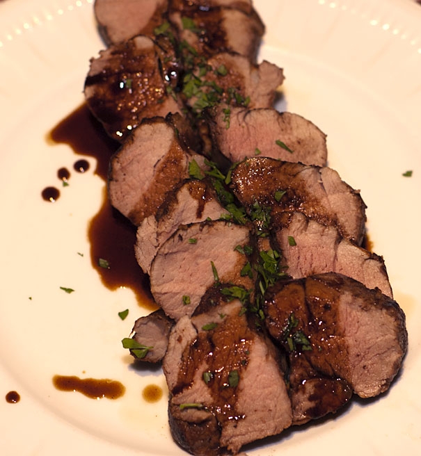 Pork Tenderloin with Balsamic Glaze