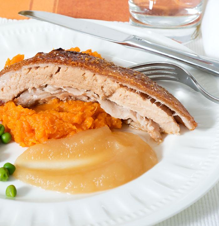 Slow Roasted Pork Belly