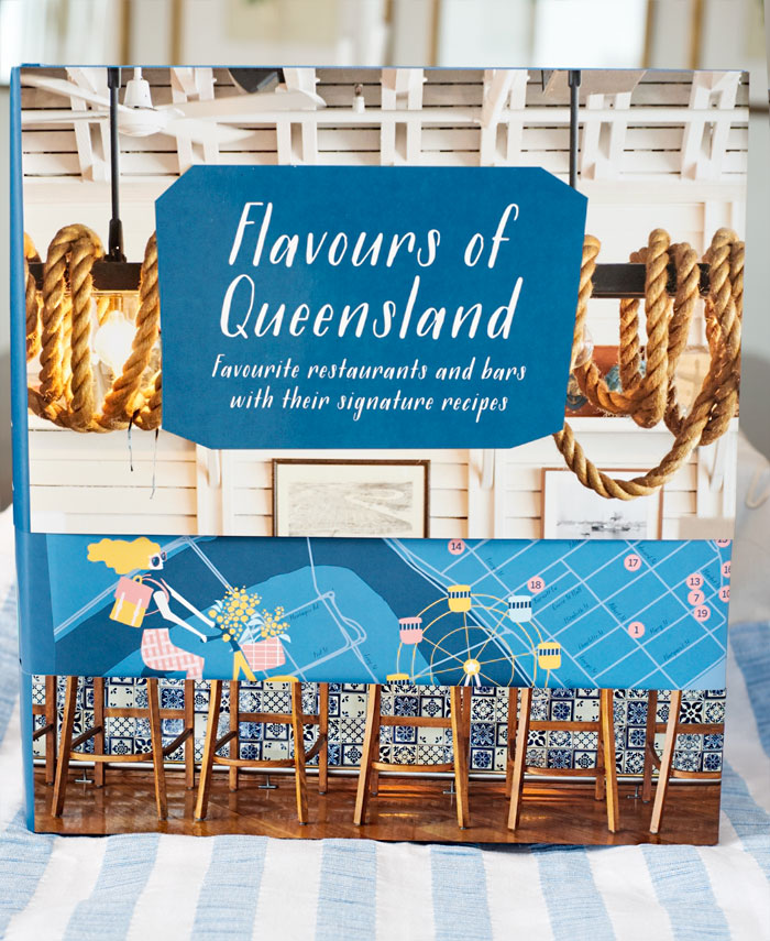 The book Flavours of Queensland