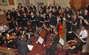 Sängerinnen, Sänger und Instrumentalisten der Untergruppenbacher Kantorei