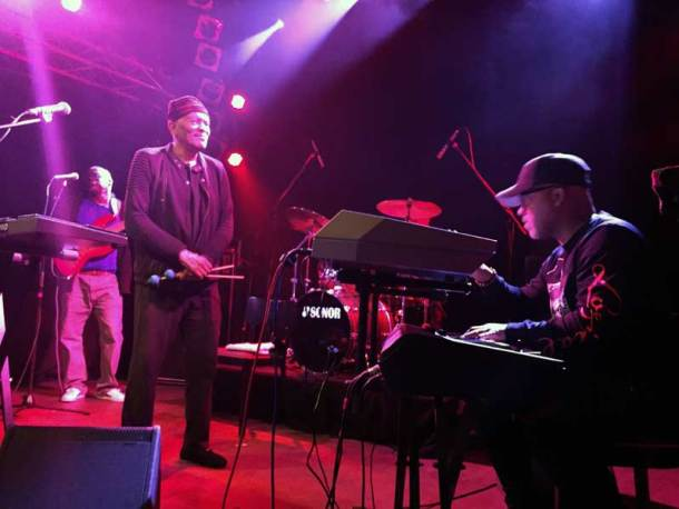 Roy Ayers Band live in Hamburg im Knust