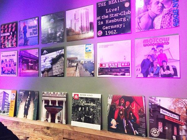 Hamburg Vinyl: Die Wand