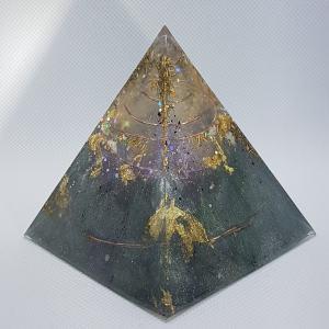 Millenium Orgone Orgonite Pyramid 8cm