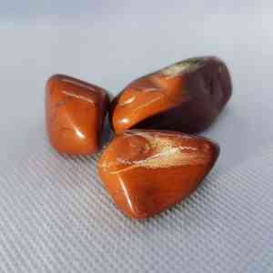 Red Jasper Stone Tumble Gemstone | Orgonite Power Beautiful Red Jasper, to carry with you or place beside the bed