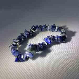 Sodalite Chip Bracelet | Orgonite Power