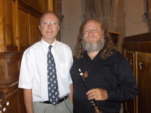 Yvon Bréhu et Jean Baron