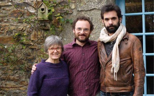 Anne Auffret, Youenn Lange et Éric Menneteau | OUEST-FRANCE