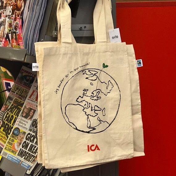 ICA får ett nytt tryck på kassen