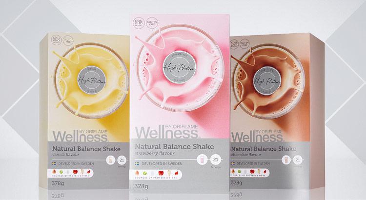 Novas Embalagens Wellness Oriflame