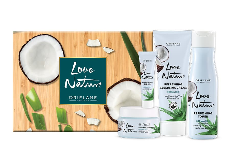 Coffret Love Nature Aloe Vera & Coconut