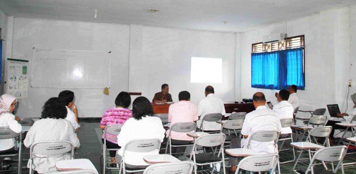 Rapat Evaluasi, Pejabat Polbangtan Manokwari Bahas Kegiatan Penugasan Kementerian