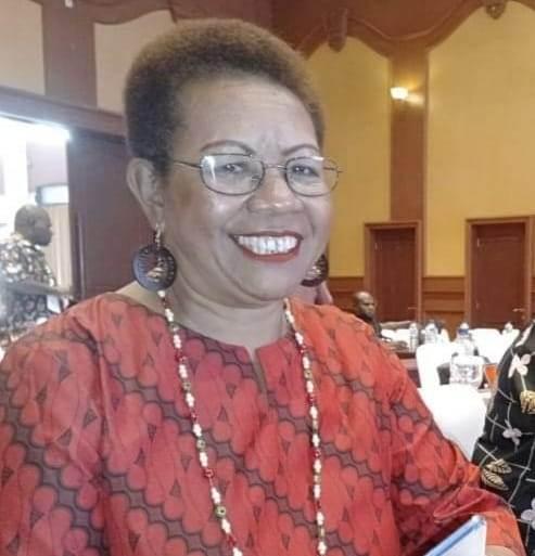 Ketua Badan Pengawasan Pemilu Kabupaten Mamberamo Raya, Cornelia Momoribo