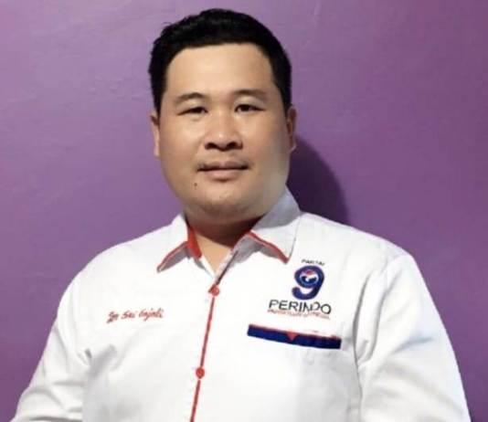 Ketua DPD Partai Perindo Mamberamo Raya, Tan Sri Gajali