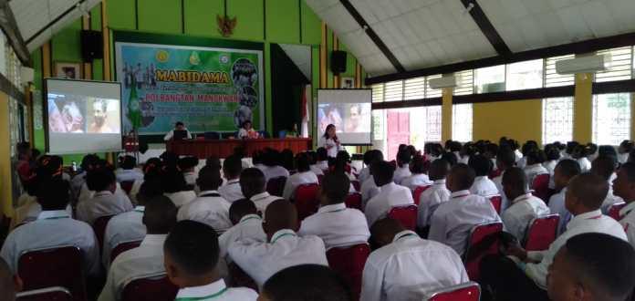 BNNP PB Berikan Pemahaman P4GN Bagi Mahasiswa Baru Polbangtan Manokwari