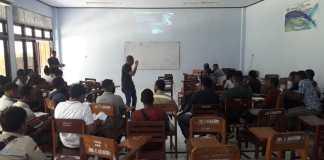 Kobarkan Semangat Knowledge Sharing, Kamasan Tembaga Sambangi Kampus Fakultas Teknik Uncen