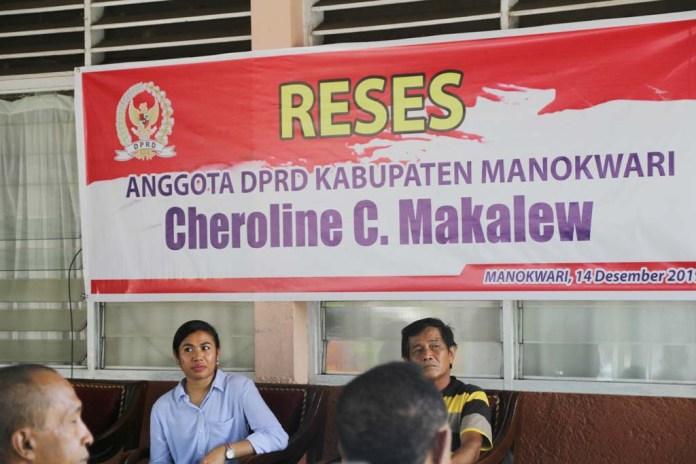 Masa Reses Cheroline Makalew, Air Bersih Hingga Lampu Jalan Jadi Keluhan Warga