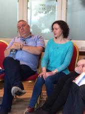 Brian Ó Domhnaill & Máire Ní Choilm - Oriel song workshop 2016