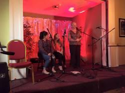 Diane Cannon, Bláithín McCann & Róisín White - song 2016