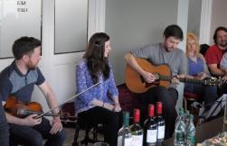 Dónal O'Connor, Gráinne Holland, Feilimí O'Connor CD launch 2016