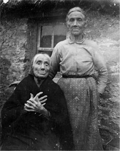 Mrs Mary Harvessy with her daughter Mary.