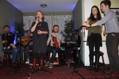 Tiarnan Ó Duinnchinn, Dónal McCague, Sean McElwain, Pádraigín Ní Uallacháin Clann O'Connor Concert 2016