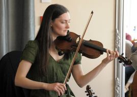 Zoe Conway fiddle 'Philip Goodman repertoire' performance 2016