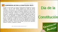 Nuevas actividades para trabajar el aniversario de la Constitución Española. En esta ocasión unas fichas de compresión lectora con preguntas inferenciales y literales. Hemos realizado dos tipos de actividades tanto […]