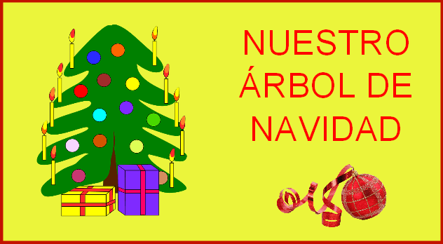 Nuestro rbol de navidad para infantil y primaria - Arbol navidad infantil ...