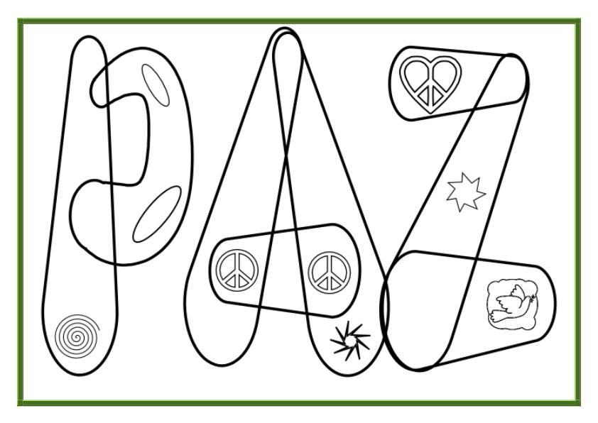 Día De La Paz Galería De Dibujos Y Carteles Niños Del: Decoramos Nuestra Clase Coloreando Por La Paz -Orientacion