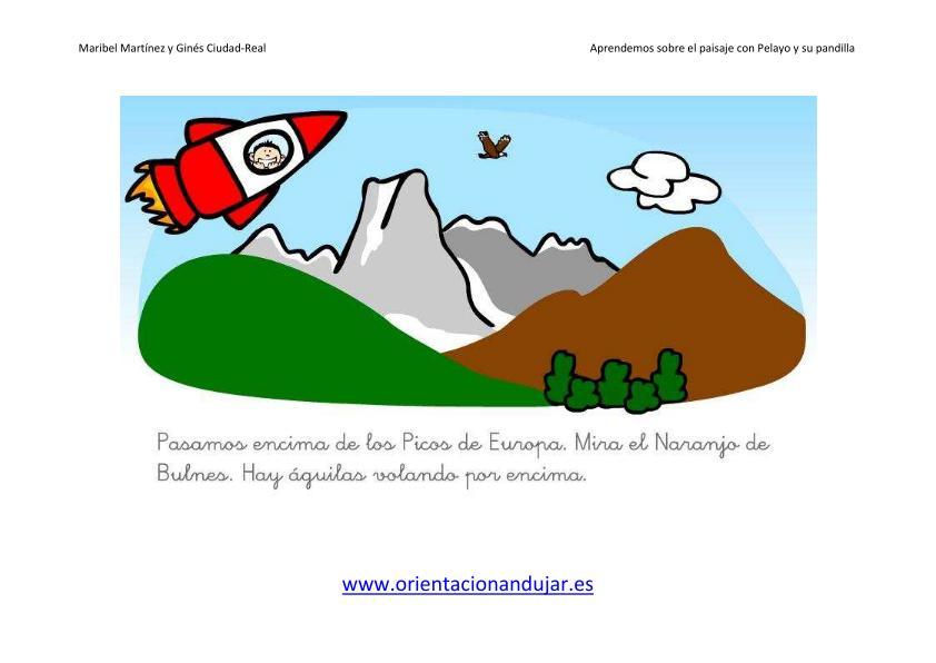 Unidades didácticas ideales para infantil y primaria el paisaje las sierras y picos