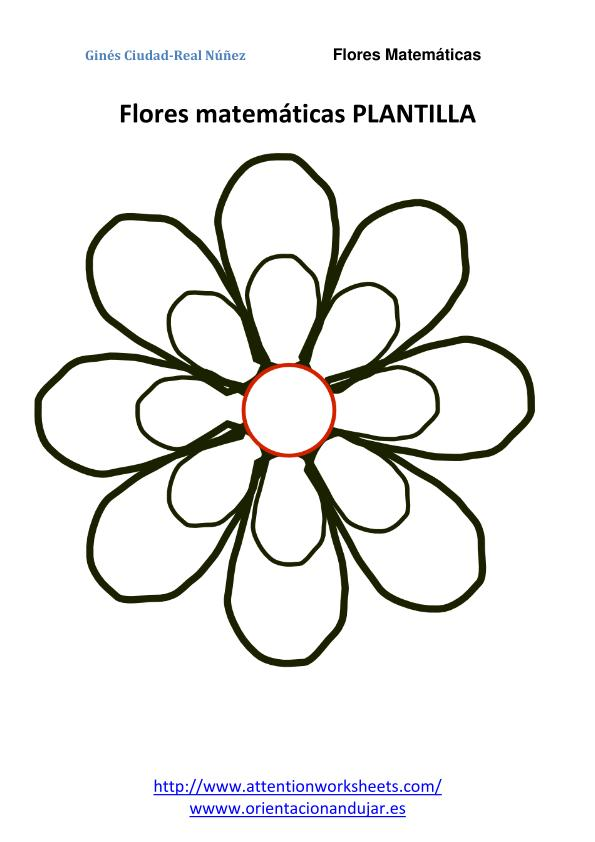 Matematicas primaria Flores Matemáticas -Orientacion Andujar