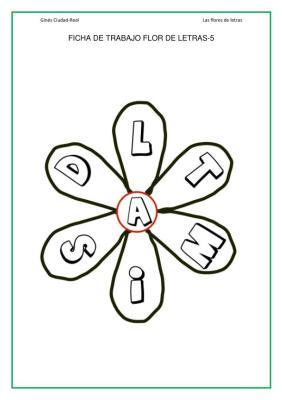 flores de letras de 6 petalos imagen_12