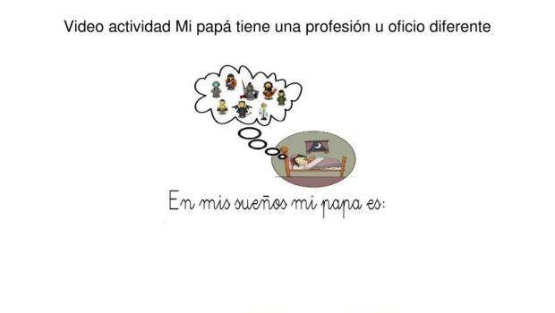 Las profesiones de papá