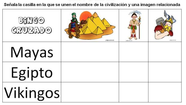 conocimiento del medio civilizaciones 3