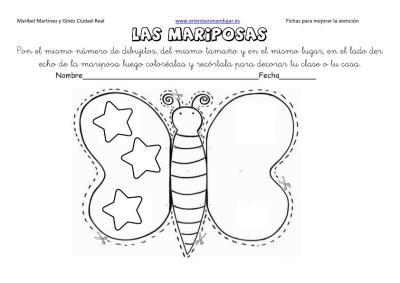 lateralidad y recortar mariposas 10