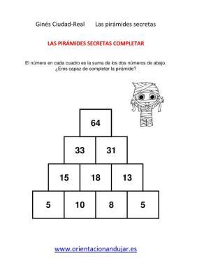 sumas primaria piramides secretas-1 solución