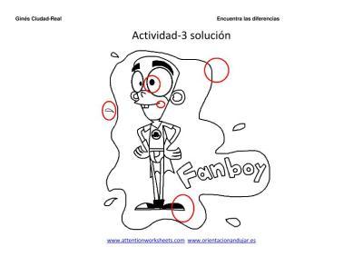 encuentra las diferencias dibujos animados  3