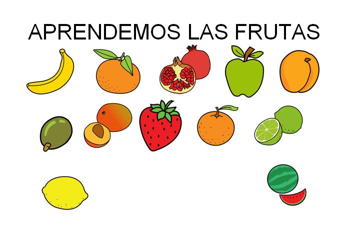 Aprendemos las frutas COLECCIÓN DE ACTIVIDADES -Orientacion Andujar