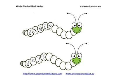 Orugas matemáticas series NUMÉRICAS IMAGENES_05